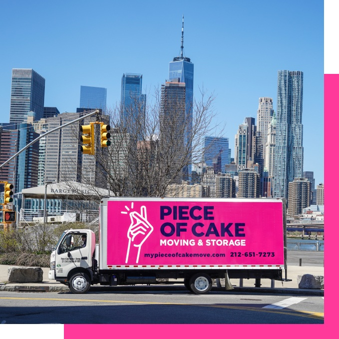 Licensed and insured movers NYC - Piece of Cake Moving & Storage