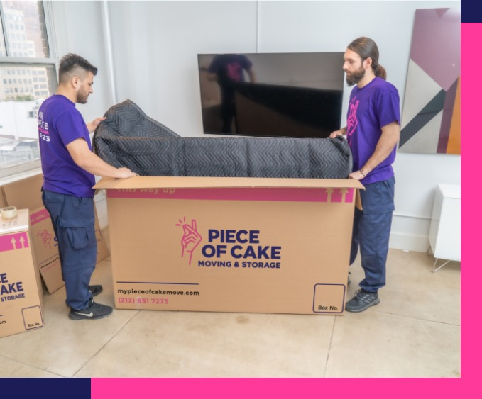 TV installation and removal service included in your flat rate moving price