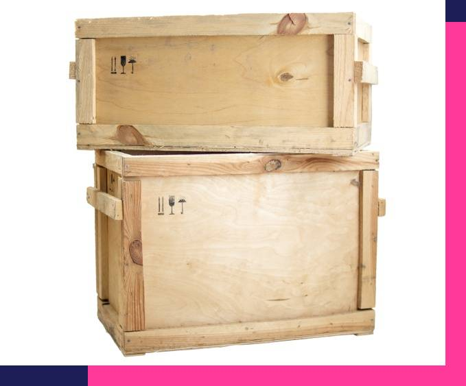 Custom wooden crate packing service NYC