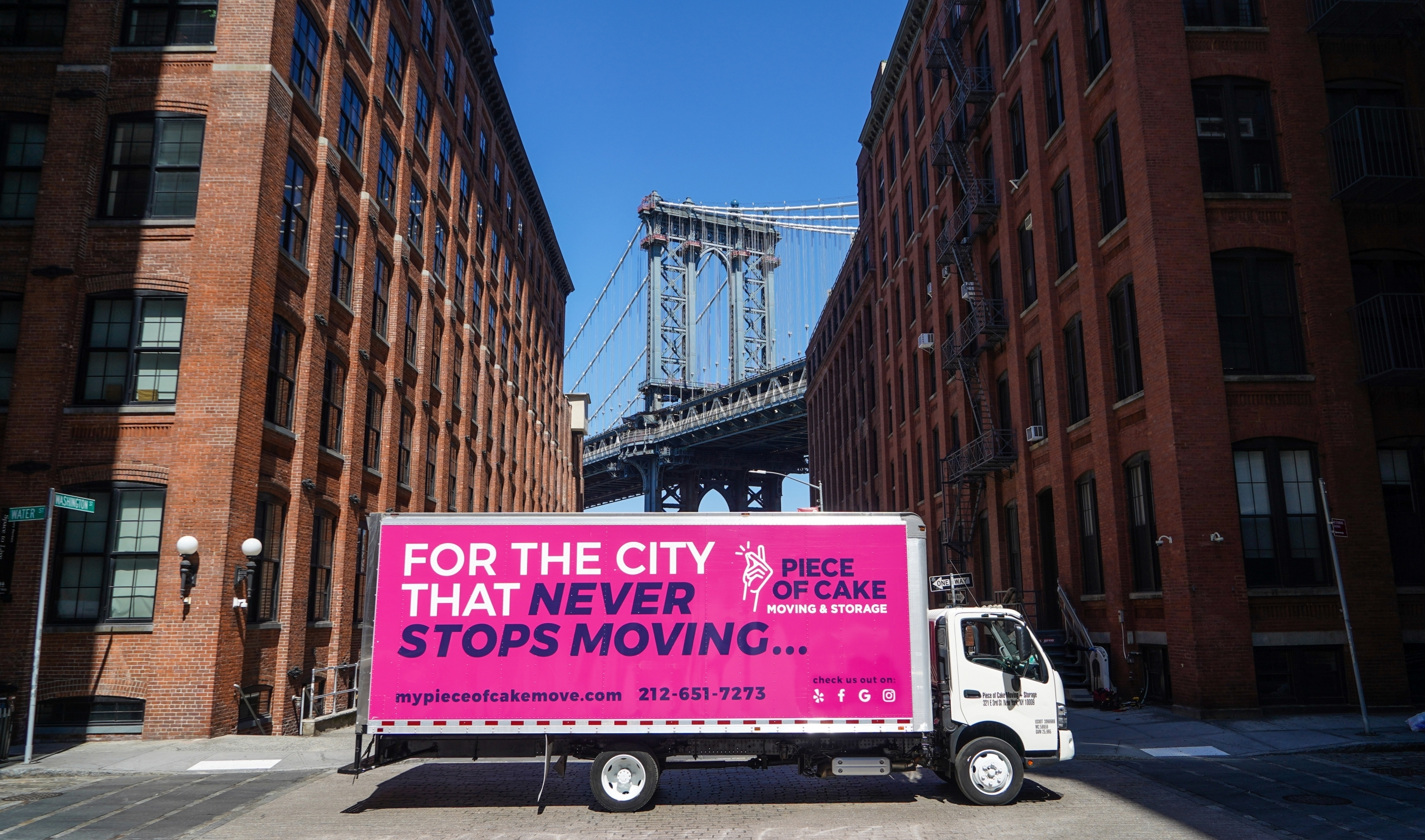 Moving to Brooklyn - NYC - Piece of Cake