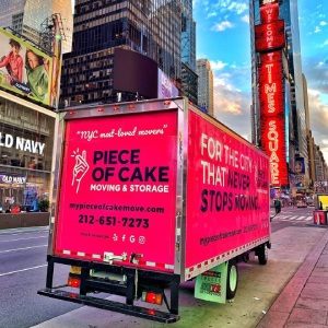 Happy customers and happy movers - Piece of Cake Moving & Storage New York