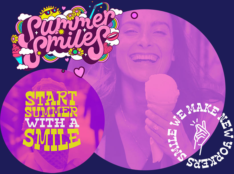 Summer Smiles by Piece of Cake Moving & Storage NYC - Start summer with a smile. We make New York smile!