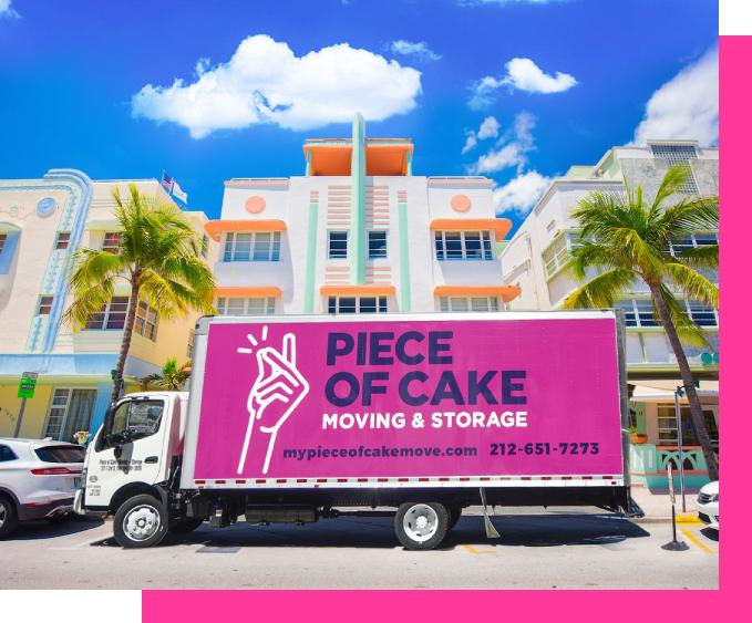 Best Florida Movers - Piece of Cake Moving & Storage Florida