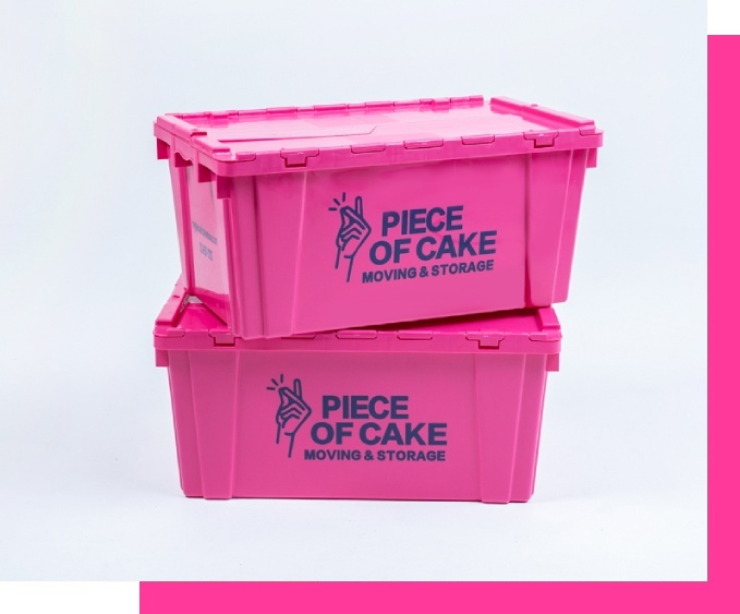 Reusable plastic moving boxes rental in NYC and NJ