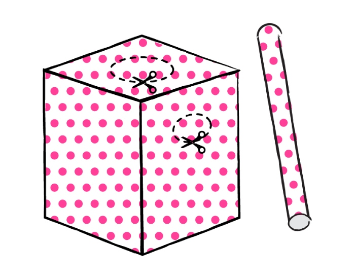 Halloween costume - Tissue Box - step 4